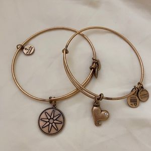Alex and Annie bracelets gold
